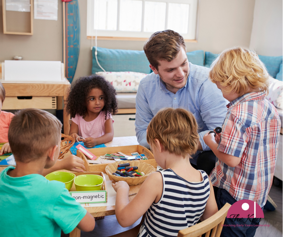 For a long time now there has been a big drive to bring more men to the early years sector.
